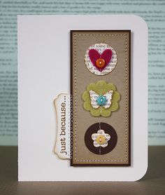 cute card layout