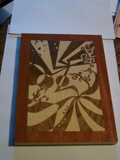 How to laser cut wood veneers for marquetry inlays | cutlasercut