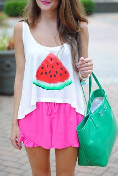 Watermelon tank