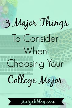 Questions about college and choosing a major.?