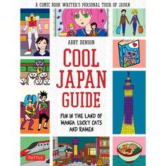 Traveling to Japan has never been so much fun—visit the land of anime, manga, cosplay, hot springs and sushi!  This graphic Japan travel guide is the first of its kind exploring Japanese culture from a cartoonist's perspective. Cool Japan Guide takes you on a fun tour from the high-energy urban streets of Tokyo to the peaceful Zen gardens and Shinto shrines of Kyoto.
