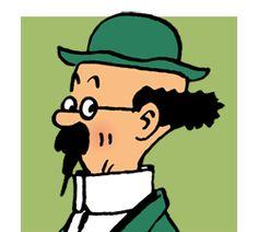 Le professeur Tournesol