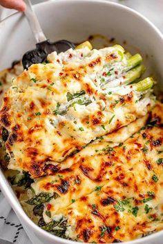 Cheesy Asparagus Casserole