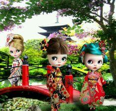 Blythe-Kimono