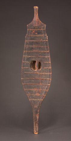 Nias shield (back).