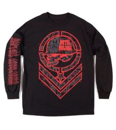 Metal Mulisha Men's Filler Long Sleeve Shirt