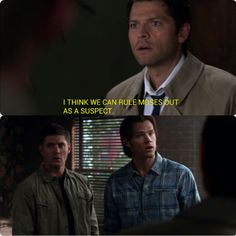 Supernatural 6:3 The Third Man - You don't say...