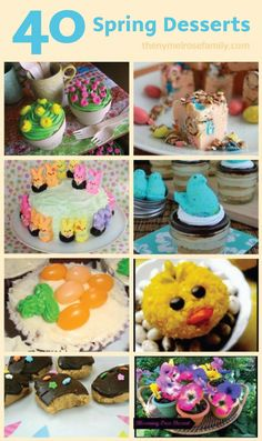 PIN FOR LATER: Get creative with your desserts this spring when you try these fun food crafting recipes.