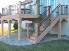 Cedar Deck – Westbury Riviera II sleeved between dedar 6×6 posts – Ugly Deck is creative inspiration for us. Get more photo about home decor related with by looking at photos gallery at the bottom of this page. We are want to say thanks if you like to share this …