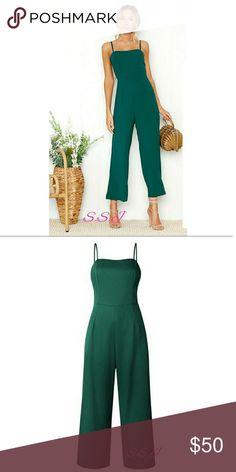 NEW ARRIVAL!! Gorgeous green jumpsuit. boutique Pants Jumpsuits & Rompers