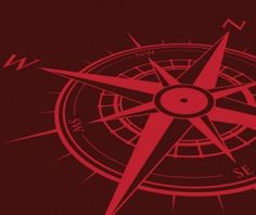 Vector compass background design material 14