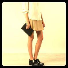 "Valentino Rockstud clutch Authentic Valentino Garavani rockstud clutch, black leather. 9""x6"" aprox Valentino Bags Clutches & Wristlets"