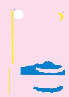 ひとつのことをしていたら、なぜだか別のことをしたくなってきますね。 ひとやすみ。 Design : Tadashi Ueda