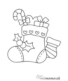 Fine Coloriage Botte Noel that you must know, Youre in good company if you?re looking for Coloriage Botte Noel Christmas Colors, Christmas Art, Christmas Projects, Holiday Crafts, Christmas Decorations, Christmas Ornaments, Winter Christmas, Christmas Ideas, Christmas Stencils