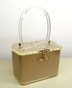 Charles S Kahn lucite purse.from my collection