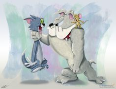 Tom And Jerry Fan Art Chip Valecek