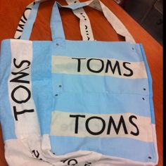 if I were going to make something from my multitude of TOMS flags, it would be this.