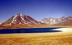 Lagunas Miscanti-minique, Chile.  By blamstur, via Flickr.