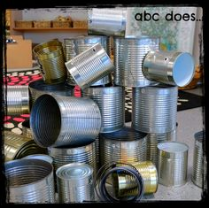 Tins and magnetic tape to enhance the construction area Construction Area Ideas, Construction Area Early Years, Construction Eyfs, Creative Area Eyfs, Deconstructed Role Play, Curiosity Approach Eyfs, Characteristics Of Effective Learning, Eyfs Classroom, Classroom Ideas