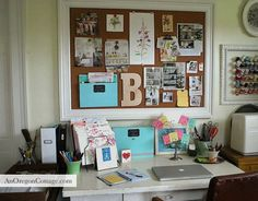 Simple Organizing Tips Using Martha Stewart Home Office™ with Avery™{and a Giveaway!} - An Oregon Cottage | An Oregon Cottage