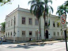 Pindamonhangaba (SP) - Palacete Tiradentes, antiga Casa de Câmara e Cadeia
