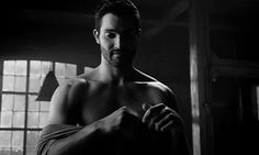 Pin for Later: 9 Times You Couldn't Unglue Your Eyes From Tyler Hoechlin's Shirtless Bod on Teen Wolf When He Shows Just a Hint of Nipple and It's Still Too Sexy For TV
