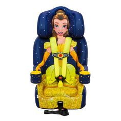 Combination Toddler Harness Booster Car Seat, Disney Beauty and The Beast Belle Toddler Car, Toddler Rooms, Toddler Girls, Best Car Seats, Disney Princess Belle, Booster Car Seat, Child Safety, Beauty And The Beast, Baby Car
