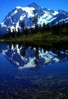 North Cascades National Park - Washington. Go to www.YourTravelVideos.com or just click on photo for home videos and much more on sites like this.