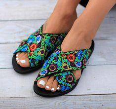 Dimitra's Workshop sandals on etsy