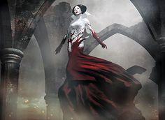 """Falkenrath Aristocrat"" | Art by Igor Kieryluk | Peering Into the Dark : Daily MTG : Magic: The Gathering | http://igorkieryluk.deviantart.com/art/Aristocrat-281322373"