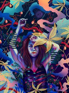 Amphora Girl | Buy on MakersPlace Alison Lee, Brave Browser, Digital Wallet, Our World, Are You The One, Artwork, Digital Art, Faces, Posts