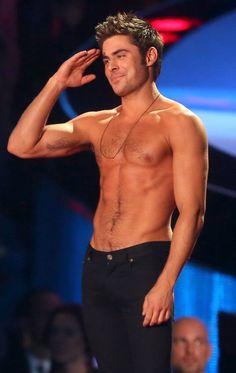 Thank you Zac Efron, I think I just stopped breathing.