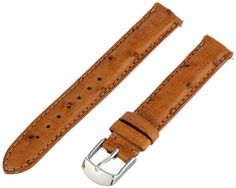 Swiss Watch International 14 MM Cognac Genuine Ostrich Strap 14DA03M $42.00 (save $158.00)