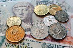 old greek drachmes