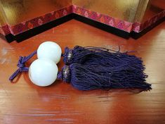 Japanese Vintage Cloudy Cream And White Marble Stone Fuchin Scroll Weight With Violet Tassel Japanese Calligraphy, Marble Stones, Vintage Japanese, White Marble, Silk Fabric, I Shop, Tassels, Vintage Items, Chinese
