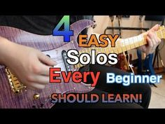 YouTube - 4 easy solos every guitarist should know .