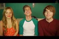 Lisa, Shane Dawson & Joey Graceffa