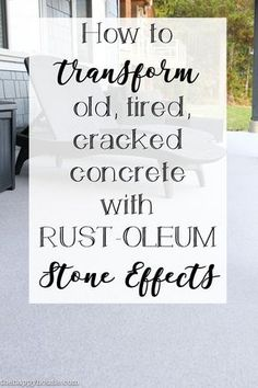 How To Transform An Old, Tired, Cracked Concrete Patio The Happy Housie Budget Patio, Diy Patio, Diy On A Budget, Patio Ideas, Backyard Ideas, Outdoor Ideas, Outdoor Projects, Diy Projects, Concrete Patio Makeover Ideas