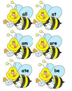 Sight Word Bee Swat!