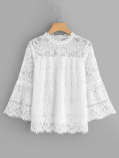 Come across a decent & dynamic number of ladylike ladies blouses. Short Lace Dress, Blouse And Skirt, Fashion Line, Lace Tops, Blouses For Women, Ladies Blouses, Blouse Designs, Fashion Dresses, Casual