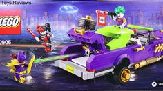 "The Lego Batman Movie Joker Notorious Lowrider Legos Harley Quinn Attacks Batman Robin and Batgirl The Lego Batman Movie Joker Notorious Lowrider Legos playset and parody with Harley Quinn attacking Batman with Robin and Batgirl by ToysReviewToys. Lego Joker steals jewels and runs from the police. Harley Quinn saves the Joker and he builds the Lego Lowrider car. Lego Batman runs from the Joker and Batgirl fights Harley Quinn in this Legos parody. This video is made by the ""ToysReviewToys""…"