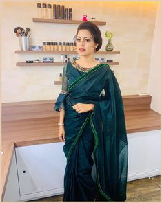 Anusree Beautiful Photos & Mobile Wallpapers HD (Android/iPhone) – My CMS Best Blouse Designs, Saree Blouse Neck Designs, Dress Neck Designs, Modern Saree, Lehenga, Anarkali, Sleeves Designs For Dresses, Stylish Blouse Design, Trendy Sarees