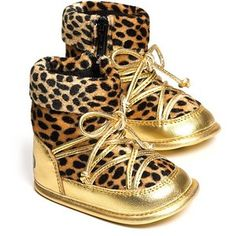 Carter's Jungle Jill Swing | Juicy Couture Infant Girls' Leopard Print Booties - Sizes 3-9 months