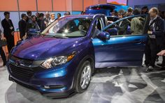 "http://www.cleanmpg.com/forums/showpost.php?p=408235&postcount=15  America's most efficient CUV goes on Sale May 16th -   ""I can almost guarantee that the HR-V with a stick will provide owners the most efficient CUV ever offered in America."""