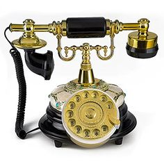 Diy Crafts For Home Decor, Retro Phone, Home Living, Living Room, Vintage Phones, Old Phone, Gothic Home Decor, Gothic House, Decoration