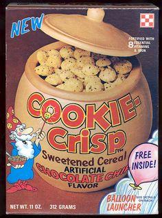 Cookie-Crisp 1977   {now THIS was always my Fav!!}