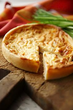 A Spoonful of Country: Grandma Bush's self crusting quiche