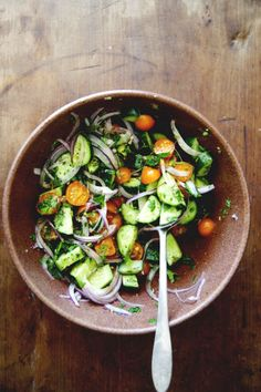 9 Healthy Salads to Try This Spring via @domainehome