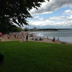 And beach volleyball! Lots of excitement at Lakeview Park! #Oshawa #oshawamuseum #canadaday2015