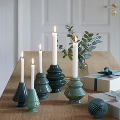 Avvento Candleholder Green Medium